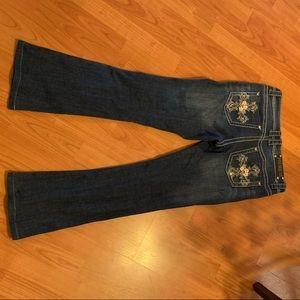 Premiere by rue 21 boot cut jeans 7/8 regular